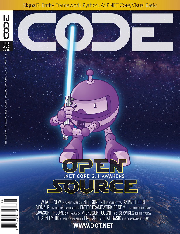 Code Magazine - July/August 2018 Issue