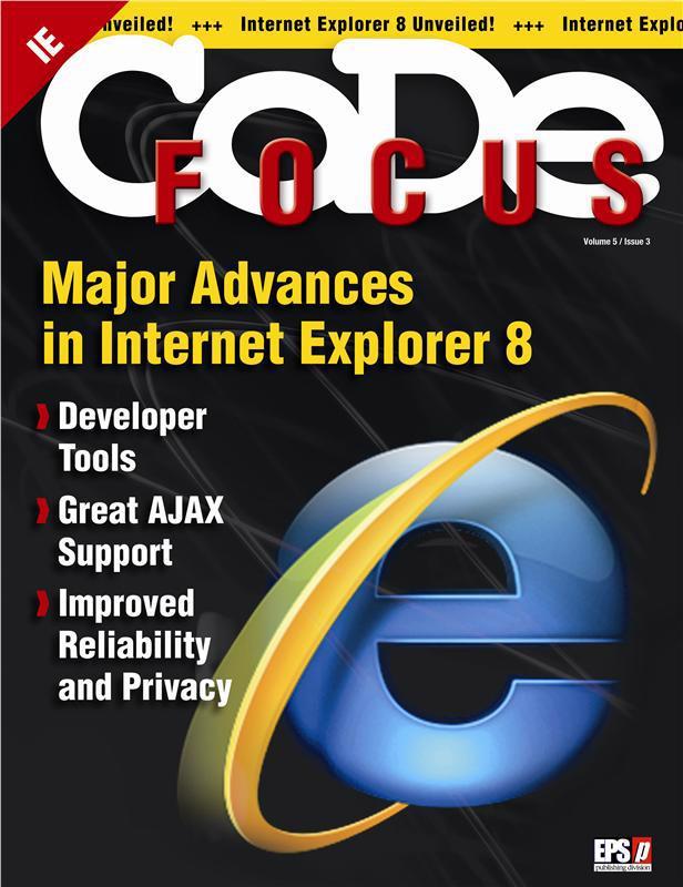 Better AJAX Development with Internet Explorer 8 Beta 2