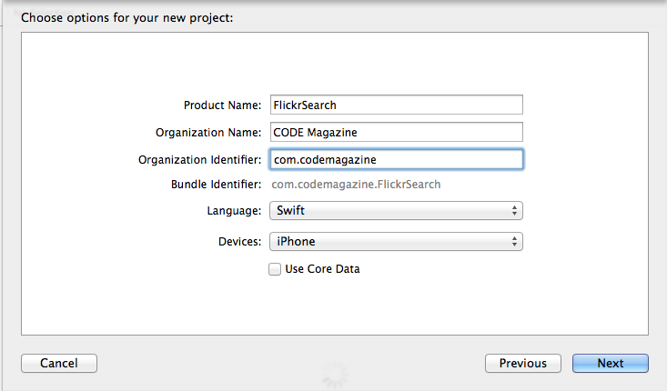 Implementing a Flickr Search iOS Application Using Swift