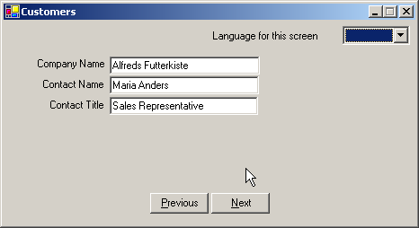 Localize Your  NET Windows Forms Apps
