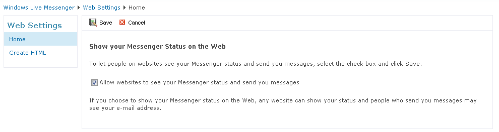 Live from the Web! Bring the Windows Live Messenger