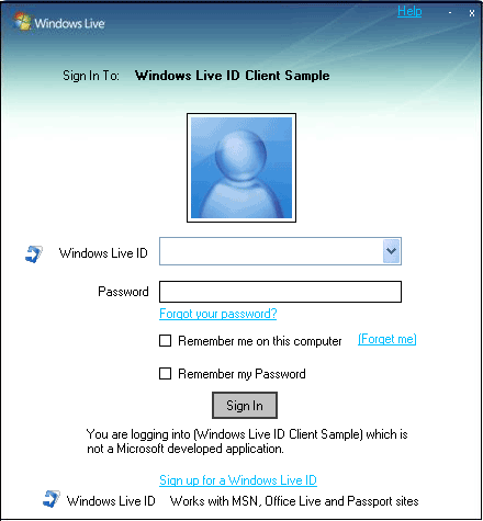 Building Personalized Applications on the Windows Live ID Platform