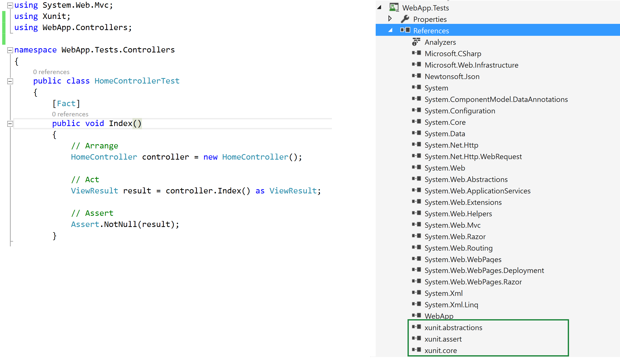 Converting MSBuild Unit Tests to xUnit and Integrating Them into