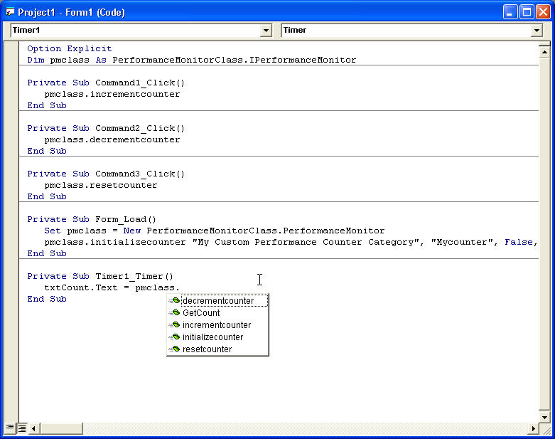 COM Interop in Visual Studio  NET