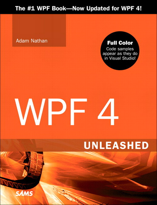 WPF 4 Unleashed - An excerpt from Chapter 1: Why WPF, and
