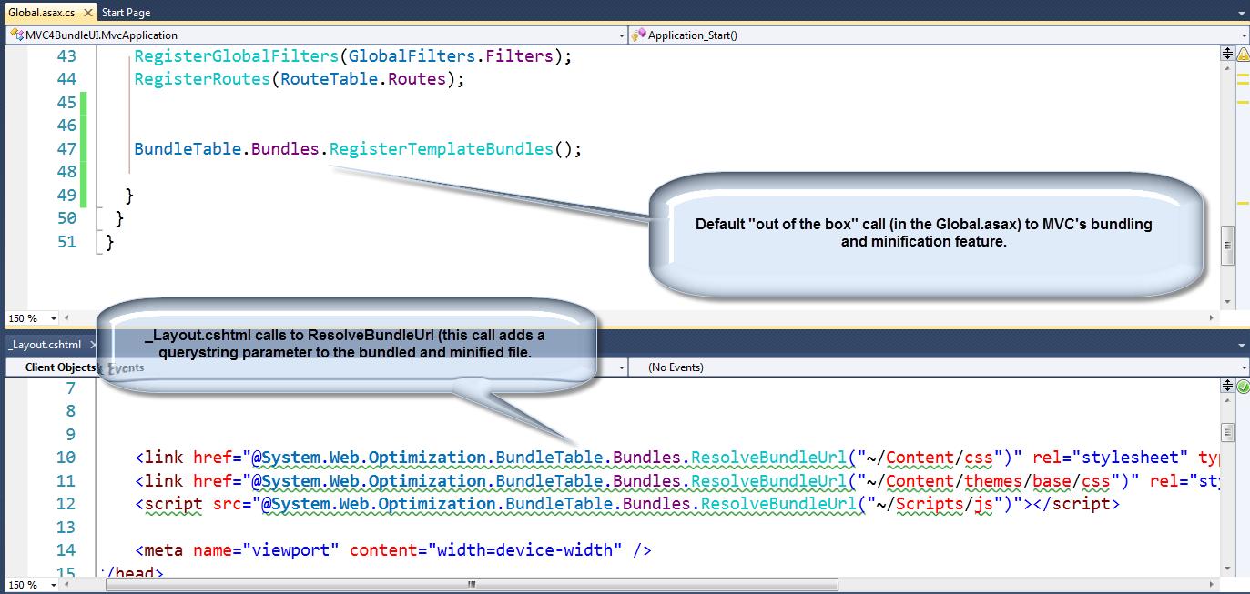 ASP NET MVC 4 Highlights - Part 2: Bundling and Minification