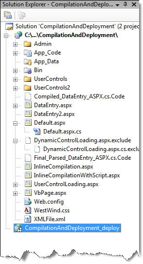 compilation and deployment in asp net 2 0
