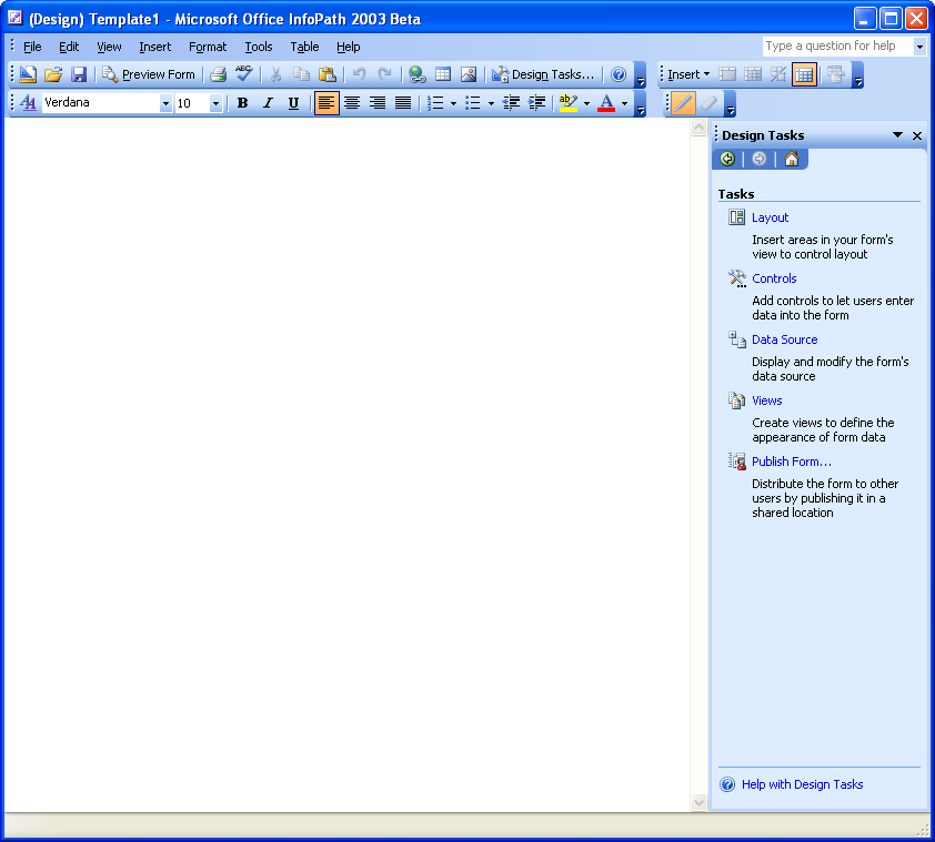 introduction to microsoft office infopath 2003