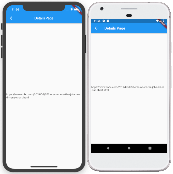 Cross-Platform Mobile Development Using Flutter