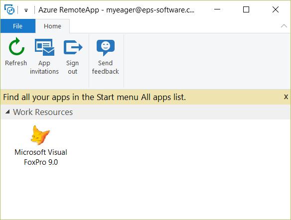 Hosting Desktop Apps in Azure with RemoteApp