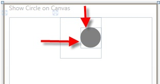 Centering Text on a WPF Shape Using a User Control