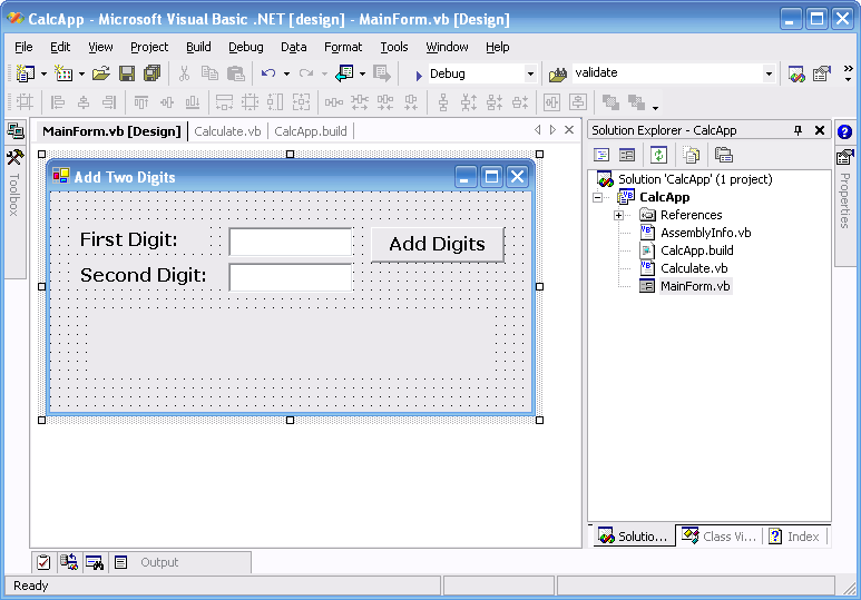 Building  NET Applications with NAnt