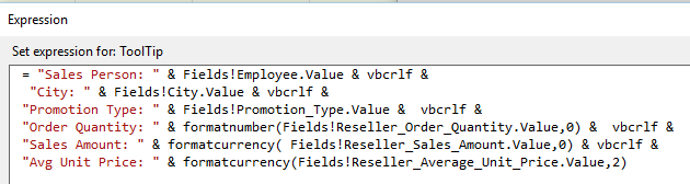 SSRS Tips, Tab Reports, Multiline Tooltips - SQL Server