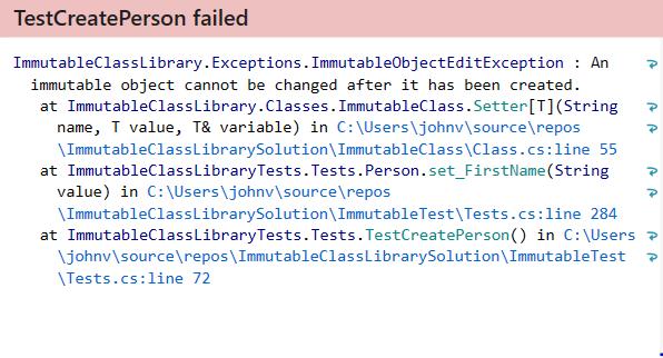 Immutability in C#