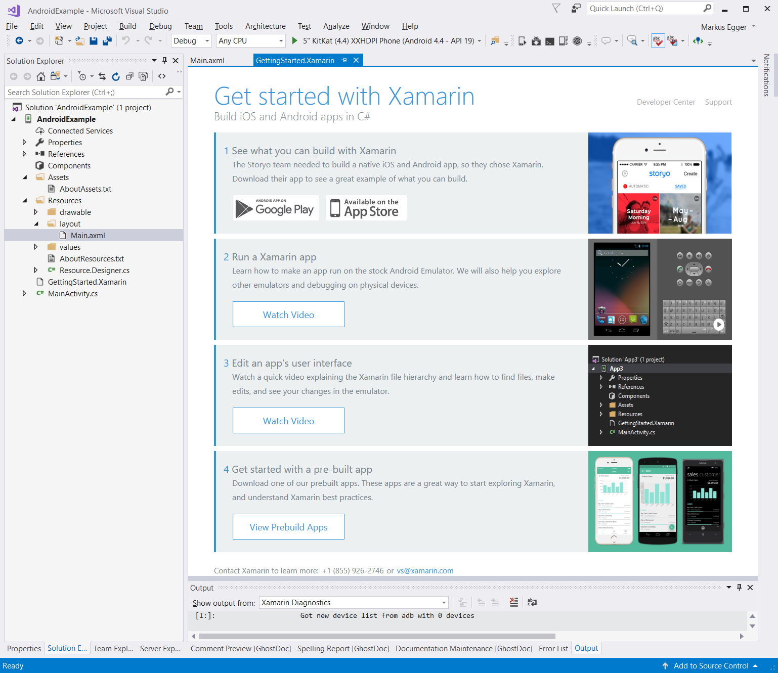 How To Make Android App In Visual Studio 2017 Mobile App
