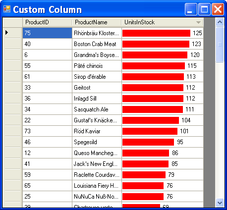 Create a Custom DataGridView Column