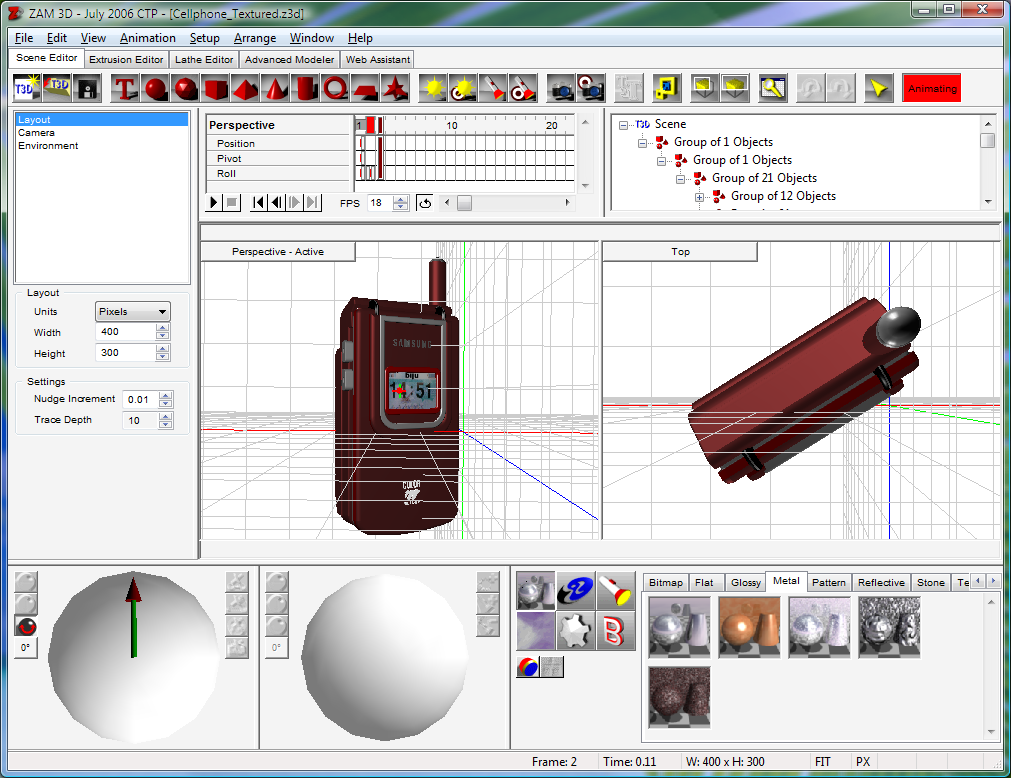 3d Tools Wpf Example - xiluspipe