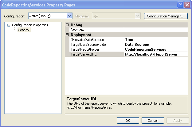 Integrating  NET Code and SQL Server Reporting Services