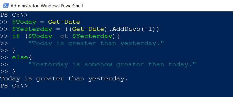 Using PowerShell Operators