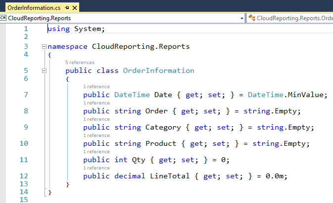Using ReportViewer to Create Visual Studio Reports as a Service