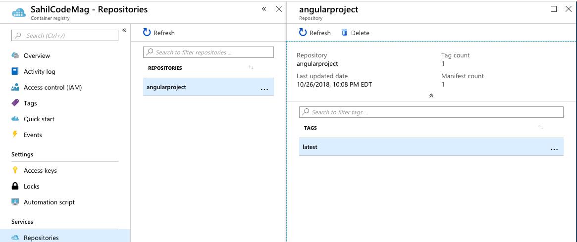 Azure DevOps, Docker, and Angular