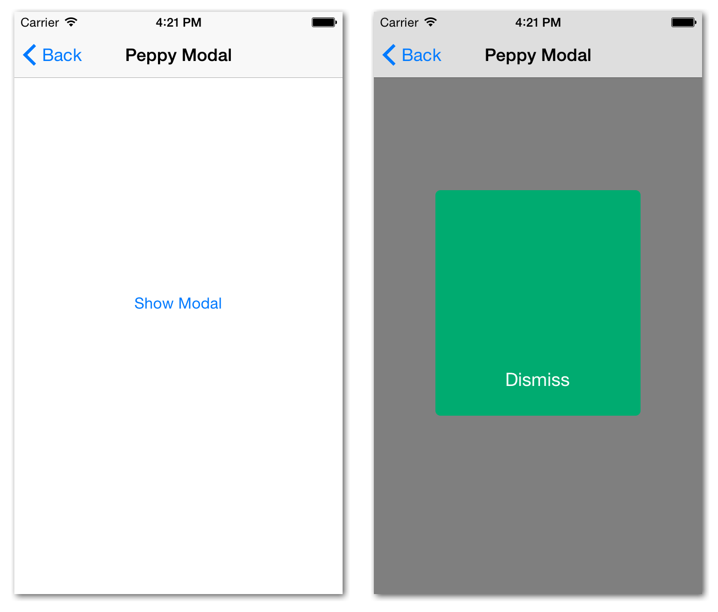 Improve iOS App Development Animation Using Facebook's Pop