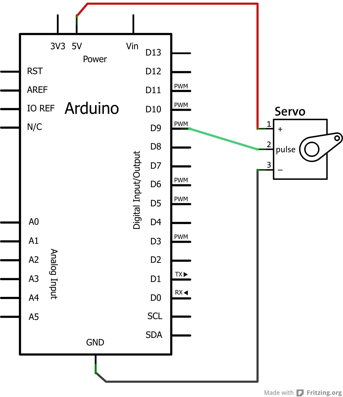 Hello Arduino Write Code That Interacts With The Real World Pin On Dc Power Source Schematic Symbol