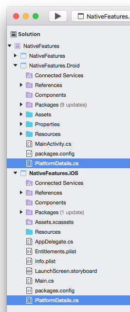 Xamarin Forms - Accessing Platform-Specific Functionalities